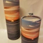 194 og 195 Sylinder Ocean sunset