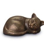 333 Katt i bronse